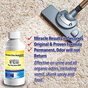 Cat and Dog Urine Stain and Odor Eliminator
