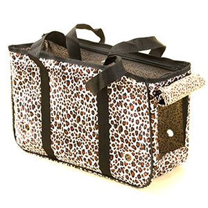 Leopard Themed Portable Pet Carrier