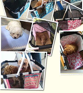 Colorful Pet Outdoor Travel Carrier