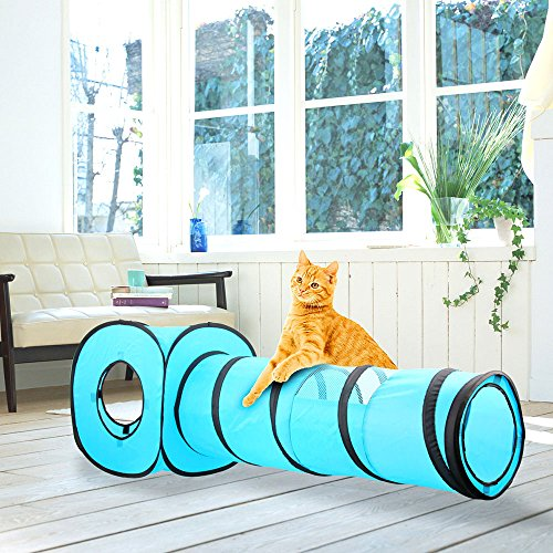 Pop Up Tunnel Cat Toy