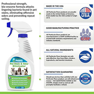Particular Paws - Pet Stain and Odor Remover for Pets
