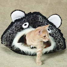 Leopard-Print Cave for Cats