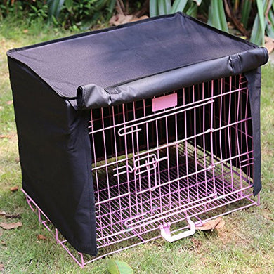 Pet Crate Kennel with Polyester Windproof Fabric