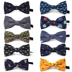 TopTie Polka Dots Bow Tie for Pets
