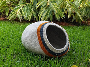 Eco-Friendly 100% Merino Wool Cat Cave
