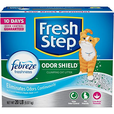 Fresh Step Odor Shield Scented Litter, Odor Shield