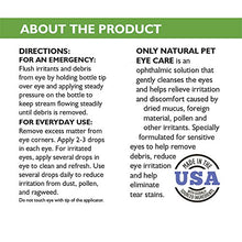 Only Natural Pet Eye Care - Gentle Eye Rinse for Dogs and Cats, For Everyday Use