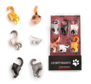 6 Cute and Functional Cat Butt Refrigerator Magnets