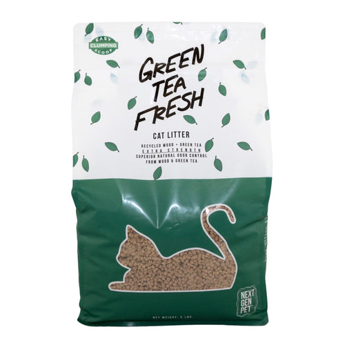 Green Tea Fresh Cat Litter by Next Gen Pet, Superior Absorbency