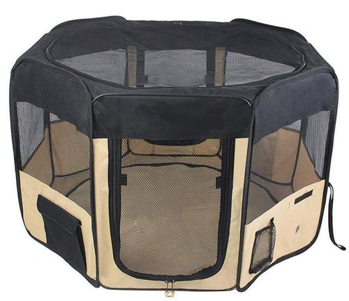 Portable Exercise Playpen Cat Cage