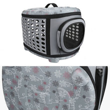 Collapsible Pet Carrier with Hard Cover