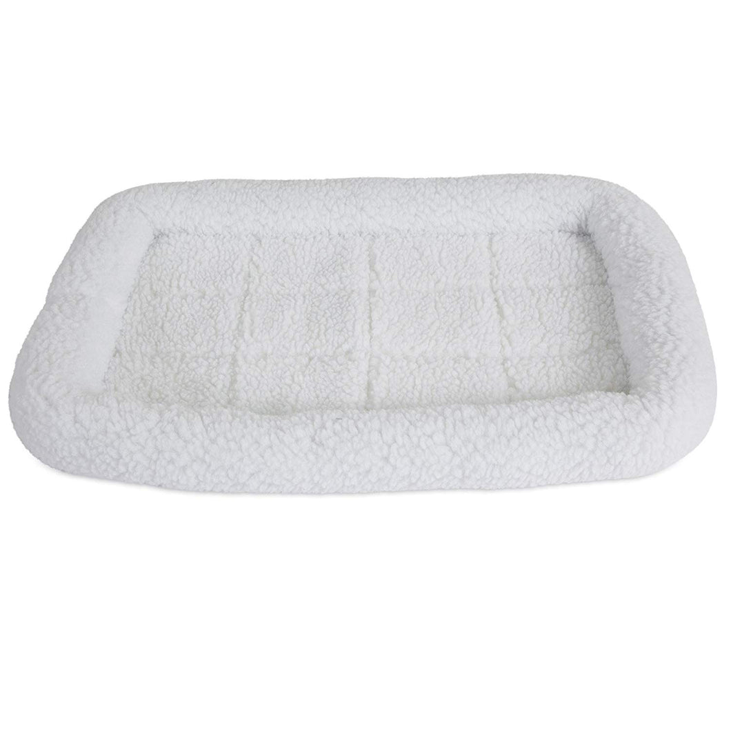 Pet Fleece Crate Bed