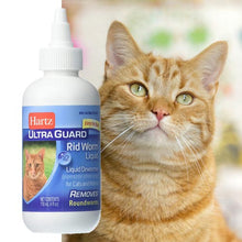 Hartz UltraGuard Rid Worm Liquid for Cats, 4 ounce