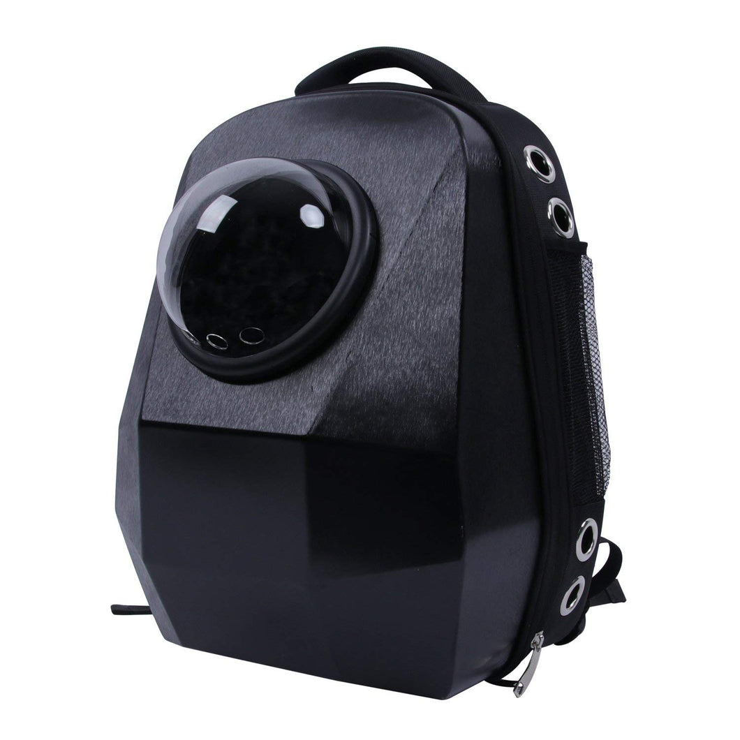 Diamond cut 3D design Cat Carrier Backpack