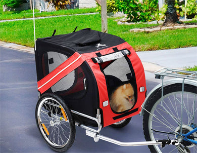 Bike Carrier for Dog Cat Bicycle Trailer