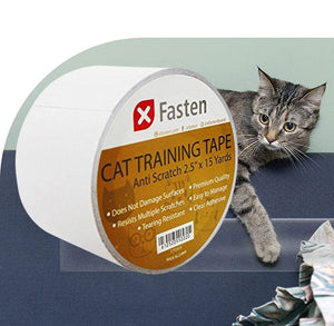Anti-Scratch Cat Training Tape by XFasten