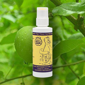 Bitter Apple Spray by Grannick, 4 Fluid Oz.