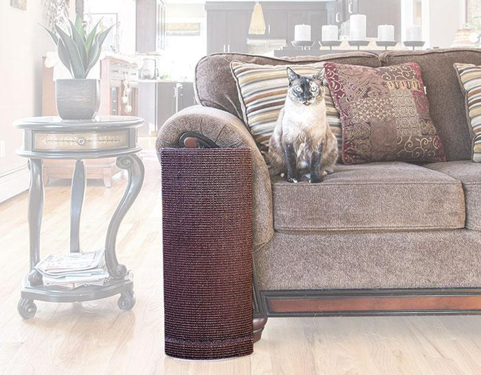 Cat Scratching Post for Couch Corner, moss