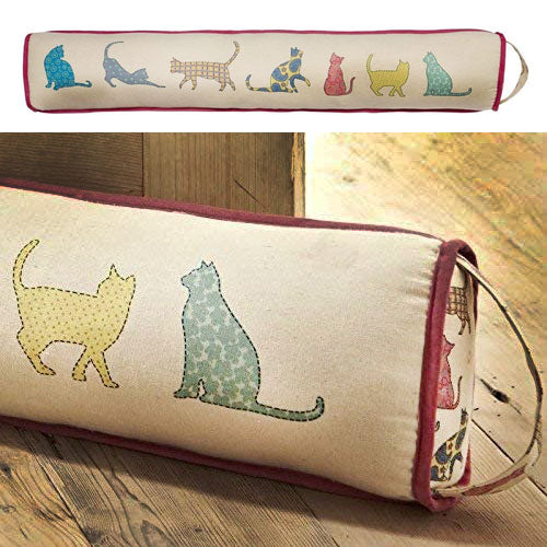 Cat Prints Draught Excluder, An Ulster Weaver Design