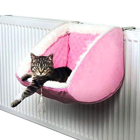 Cat Radiator Princess Bed with Holding Device  Edit alt text