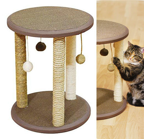 Cat Scratcher with Three Posts