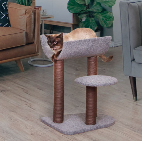 Cat Tree with Curved Napping Perch
