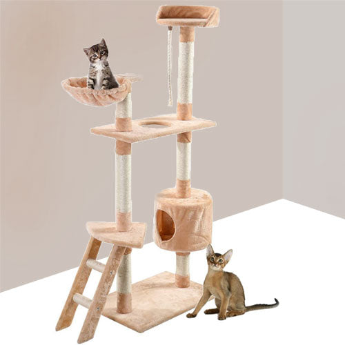 Cat and Kitten Condo Tree
