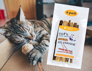 Silvervine Catnip Sticks