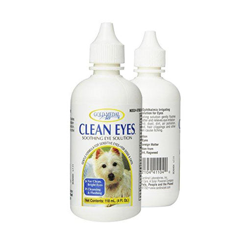 Gold Medal Clean Eyes for Cats and Dogs, Cleansing & Flushing