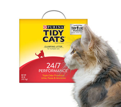 Purina Tidy Cats 24/7 Performance Clumping Cat Litter  Edit alt text
