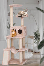 Contemporary Cat Climbing Tower