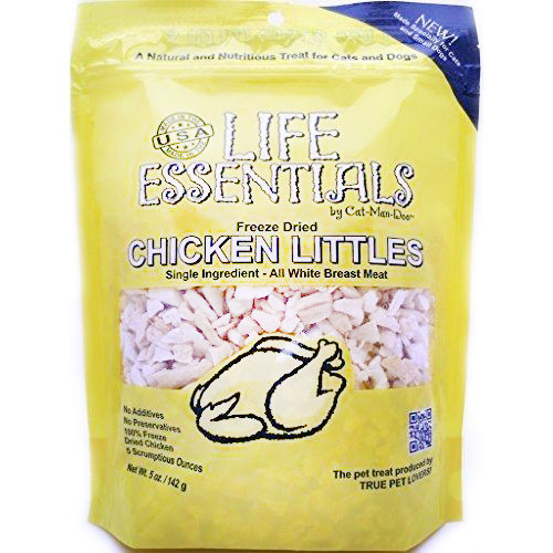 Life Essentials Freeze Dried Chicken Littles by Cat-Man-Doo