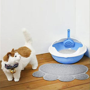 Pet Food Water Bowl Feeding Placemat Mat