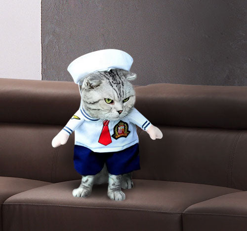 Halloween Sailor Costume for Pets  Edit alt text
