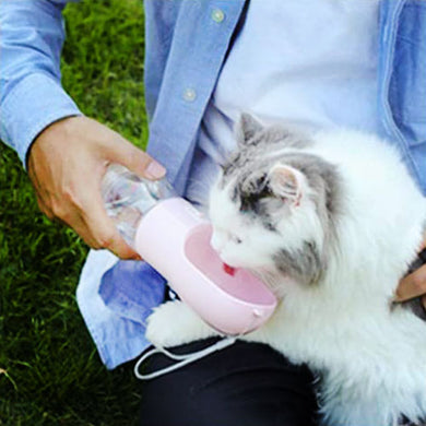 Innovative Pet Travel Water Dispenser for Cats