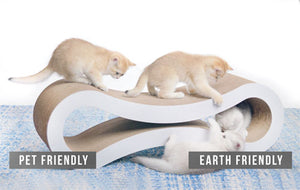Large Surface Cardboard Scratcher for Cats