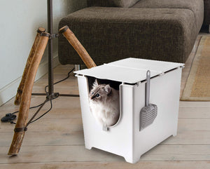 "Modkat Flip Litter Box Kit, 20"" L x 15"" W x 16.8"" H. Edit alt text  Edit alt text"