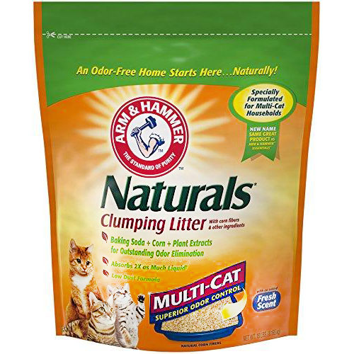 Naturals Multi-Cat Litter by Arm & Hammer, Low Dust Formula