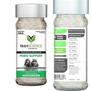 Perio Support by VetriScience, Canine Feline Formula