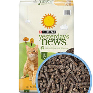 Yesterday's News Unscented Non-Clumping Cat Litter, Purina  Edit alt text
