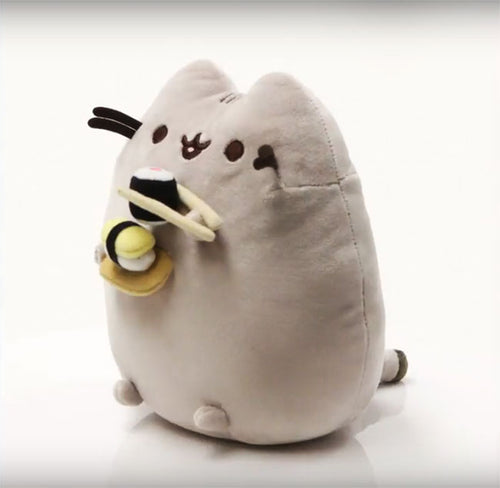 Pusheen Sushi Snackable Stuffed Toy Plush by Gund  Edit alt text