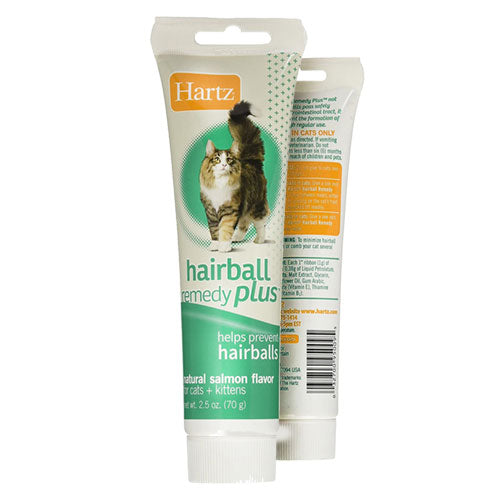 Hairball Remedy Plus Salmon Flavored Paste by Hartz for Cats and Kittens