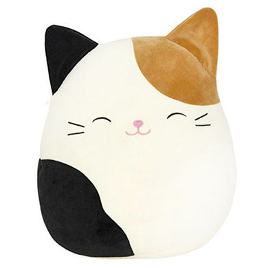 Squishmallows Cat, Cam(eron) the Cat, Cute Cuddly Toy for Kids