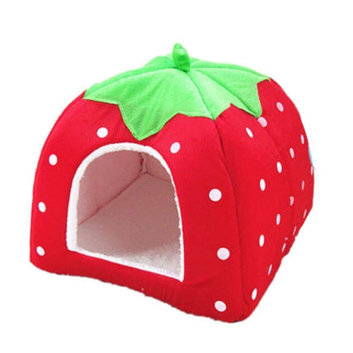 Strawberry Cat House