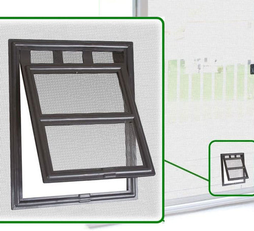 Two-way Screen Automatic Closing Design Cat Flap