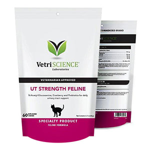 Vetri-Science UT Strength Feline with N-acetyl Glucosamine
