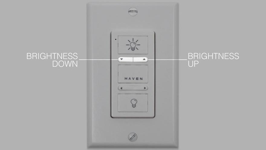Full Color Wireless Wall Switch Operation