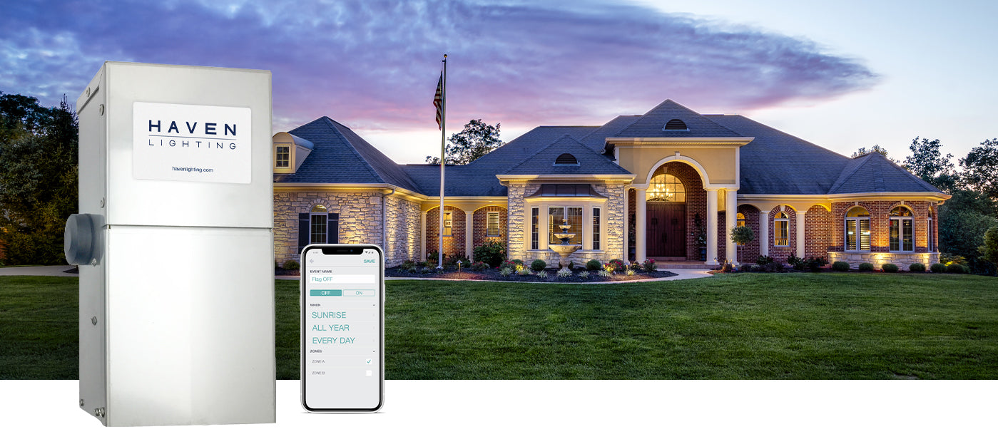 Landscape Lighting Wifi Transformer Smart System With App
