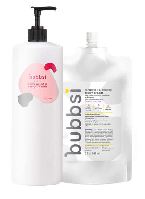 the refill bundle Bubbsi 2 x 32oz refills