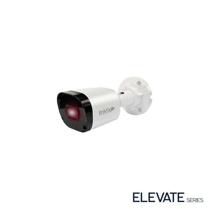 ELEV-C8BXIR: 8Megapixel TVI/AHD/CVI/CVBS, Outdoor Bullet,2.8mm Fixed, 98' IR Range, D-WDR, up to -40, 12VDC